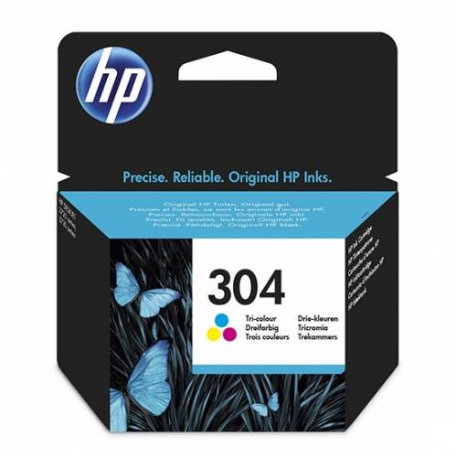 HP INK CARTRIDGE 304 COLOR | DEEPELECTRONICSCY